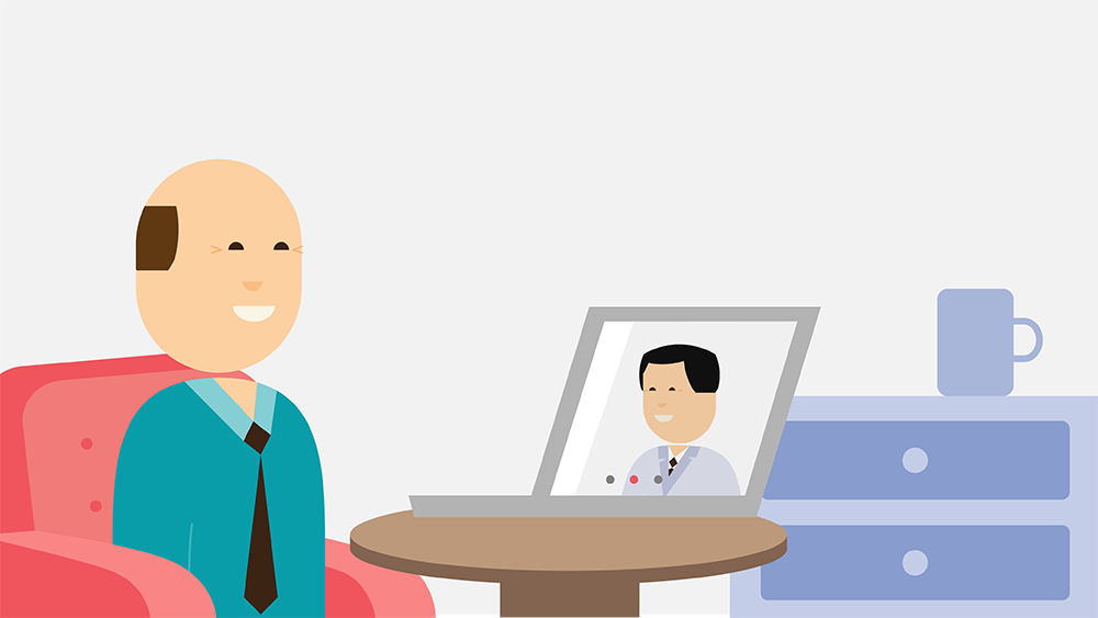 telehealth illustration