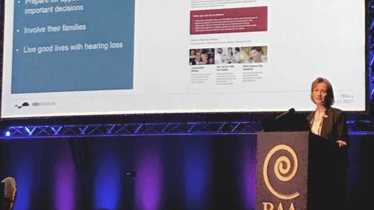 Ida Presents Telecare Tools at Annual British Audiology Association Conference
